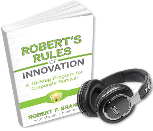 Robert's Rules of Innovation Audio Book (on 4 CDs)