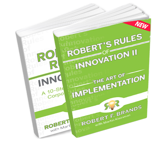Robert's Rules of Innovation - 2 Book Bundle