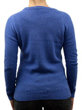 Crew neck 100% regenerated cashmere - Dalle Piane Cashmere