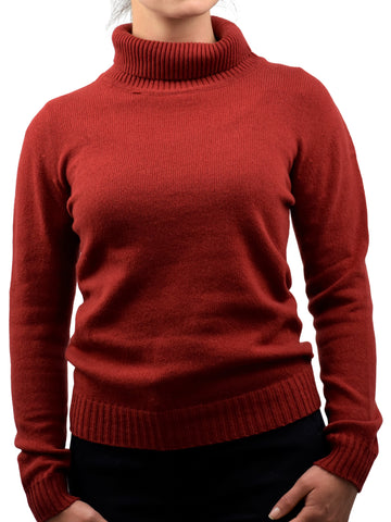 Turtleneck 100% regenerated cashmere | Dalle Piane Cashmere