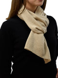 Scarf in 100% regenerated cashmere