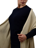 Stole in 100% regenerated cashmere | Dalle Piane Cashmere