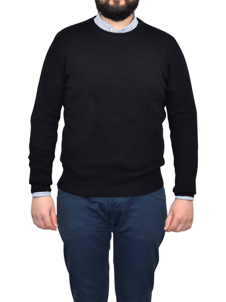 Crew Neck 100% Regenerated Cashmere | Dalle Piane Cashmere