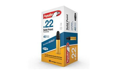Aguila 22lr Sv Sp 40 Grain Weight 50-5000