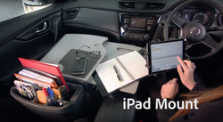Gripmaster Versatile car desk with Tablet Mount