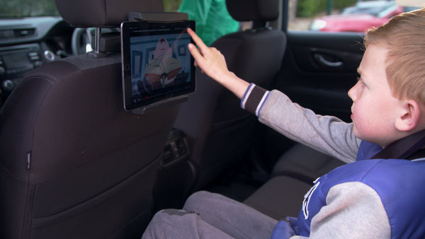 Ipad holder for the car