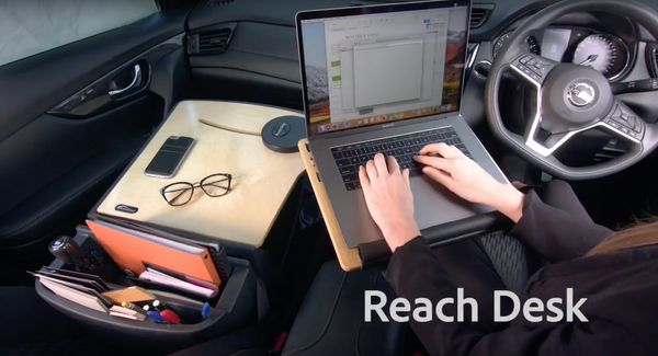 The Reach Car Desk