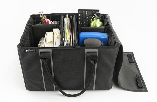 Adjustable File Storage Tote Bag