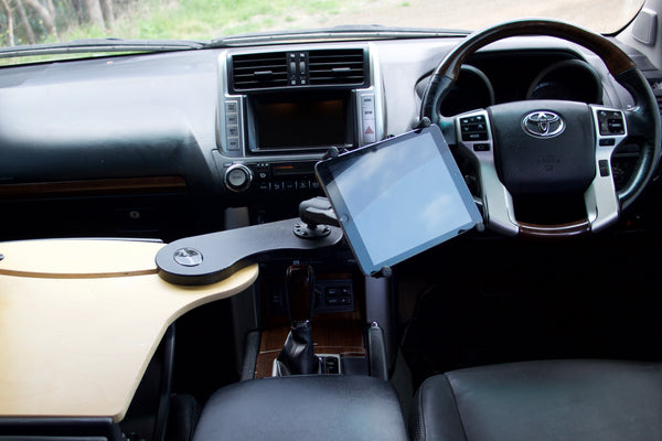 Reach Tablet Car Desk with RAM Universal X-Grip Cradle