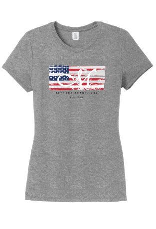 Stars & Stripes Tee - Women's