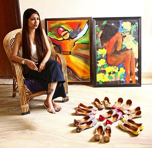 Journey of an artist into the world of juttis