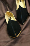 Classic Black Slip On Jutti