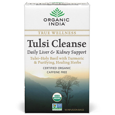 Organic India Tulsi Cleanse 18 Tea Bags