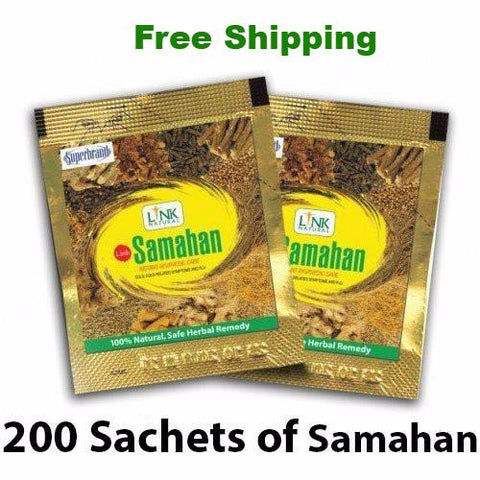 Samahan Herbal Extracts Tea for Cold Cough Immunity (200pcs x 4g sachets)