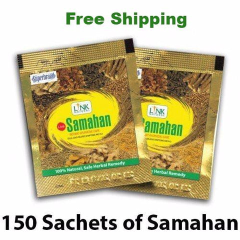 Samahan Herbal Extracts Tea for Cold Cough Immunity (150pcs x 4g sachets)