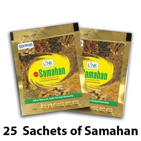 Samahan Herbal Extracts Tea for Cold Cough Immunity (25pcs x 4g sachets) - Samahan