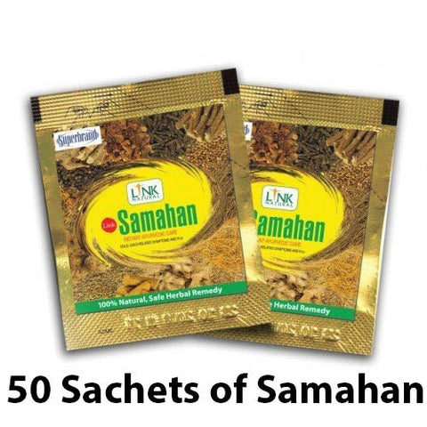 Samahan Herbal Extracts Tea for Cold Cough Immunity (50pcs x 4g sachets) - Samahan