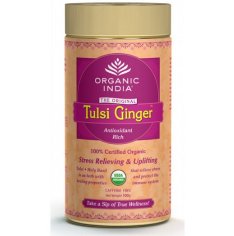 Organic India Tulsi Ginger- 100 Gram Tin