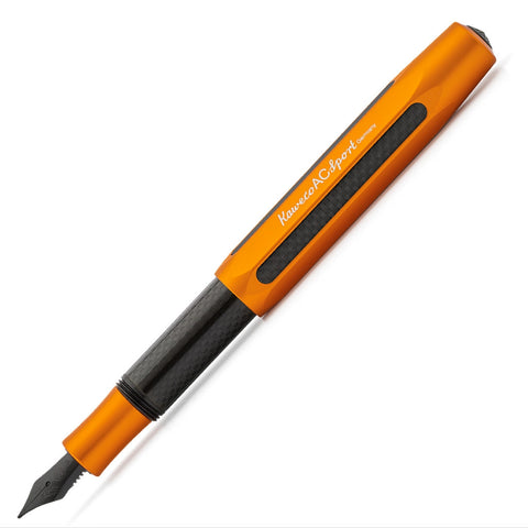 Kaweco AC Sport Fountain Pen - Orange Fountain Pen - we love pens