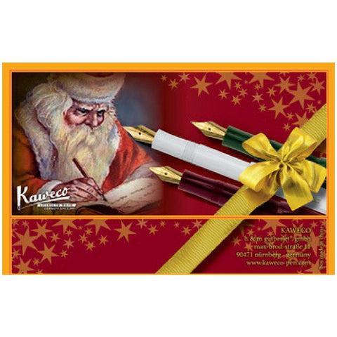 "Kaweco Tin Slipcase Cover - ""Santa Claus"" - Long"