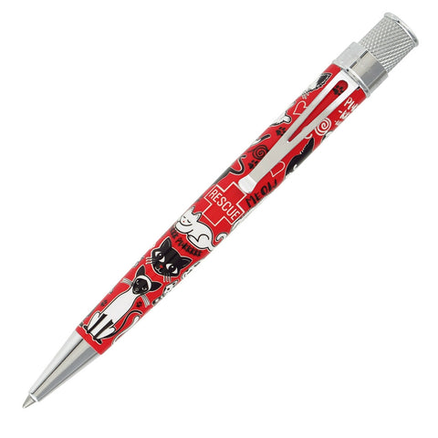 Retro 51 Tornado Deluxe Rollerball Pen - Cat Rescue