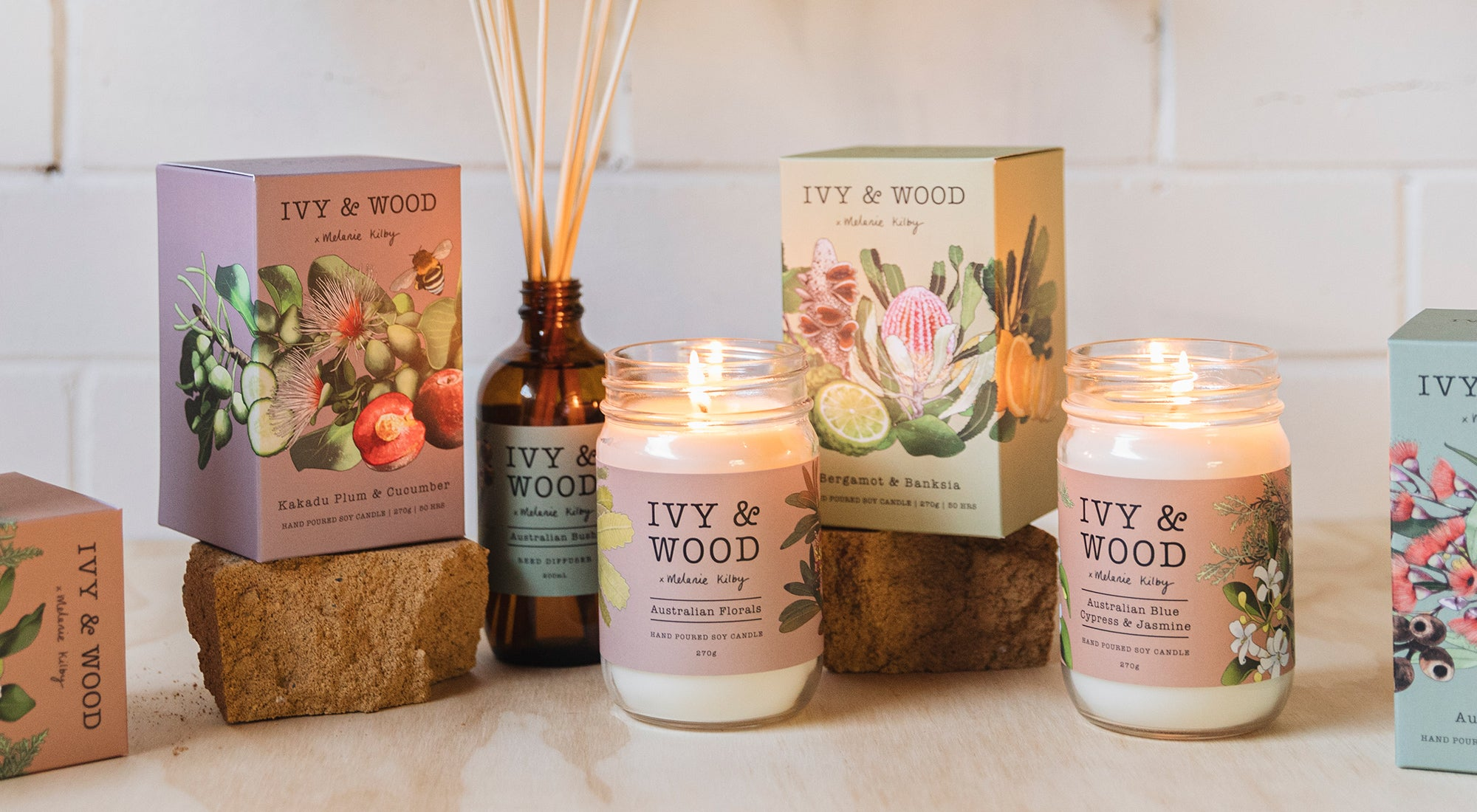 Ivy & Wood collection