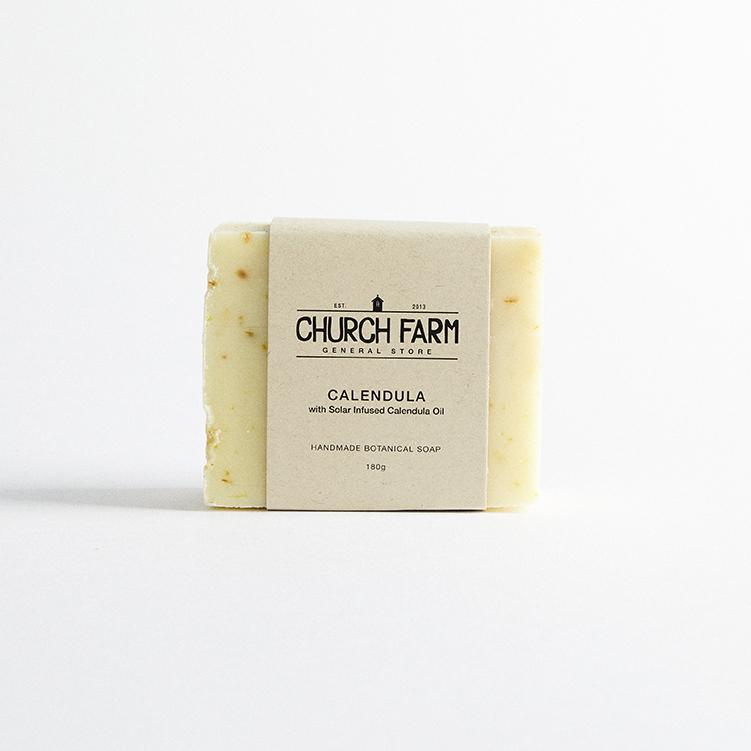 Calendular Botanical Soap by Church Farm General Store
