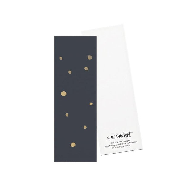 Confetti Bookmarks Set of 5 by In The Daylight