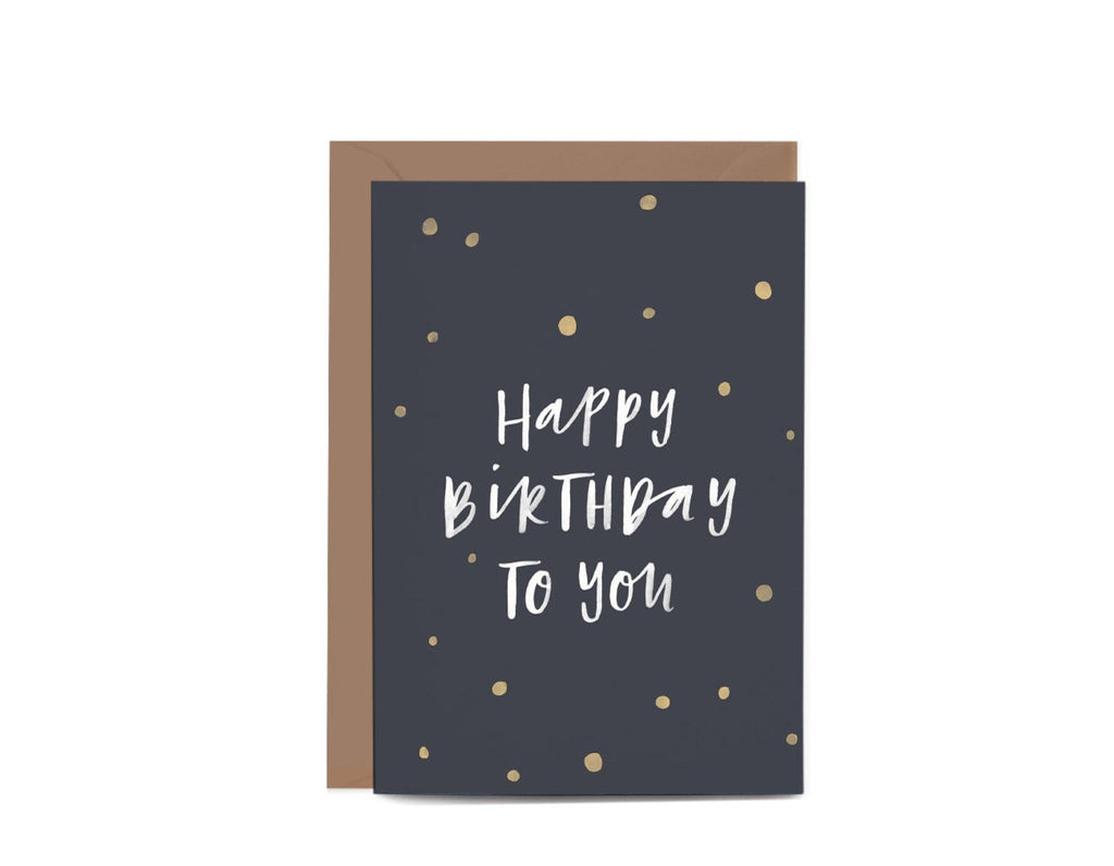 Birthday Confetti Greeting Card by In The Daylight