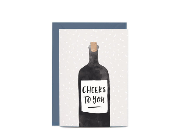 Cheers To You Greeting Card by In The Daylight