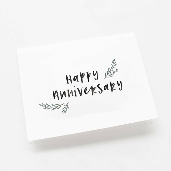 Happy Anniversary Greeting Card by In The Daylight
