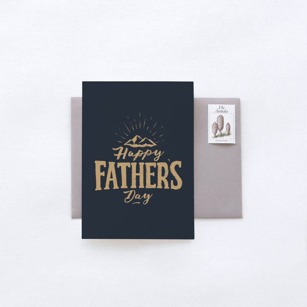 Father's Day - Happy Fathers Day Greeting Card by In The Daylight