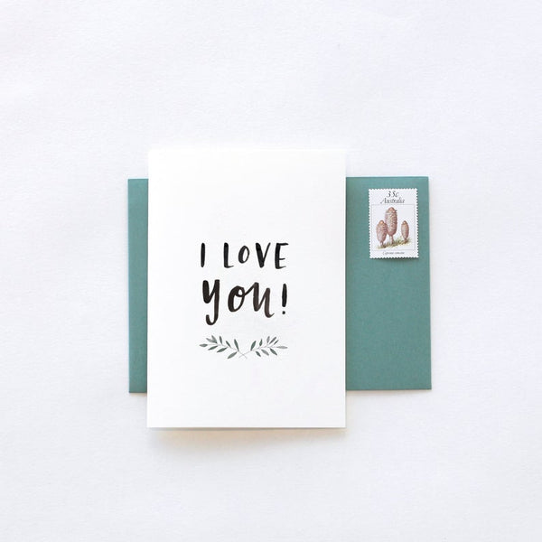 I Love You Greeting Card by In The Daylight