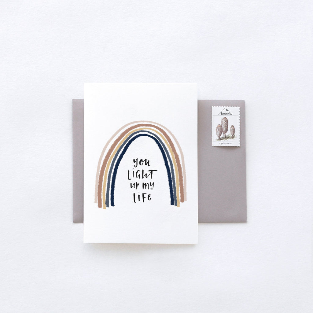 You Light Up My Life Greeting Card by In The Daylight