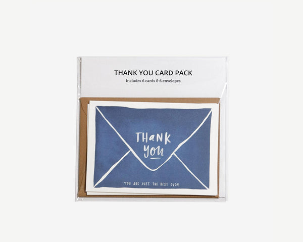 Mini Thank You Card (Mixed Pack) by In The Daylight