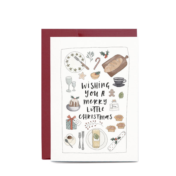 Christmas Feast Greeting Card by In The Daylight