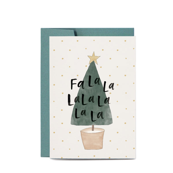 Christmas Tree Greeting Card by In The Daylight