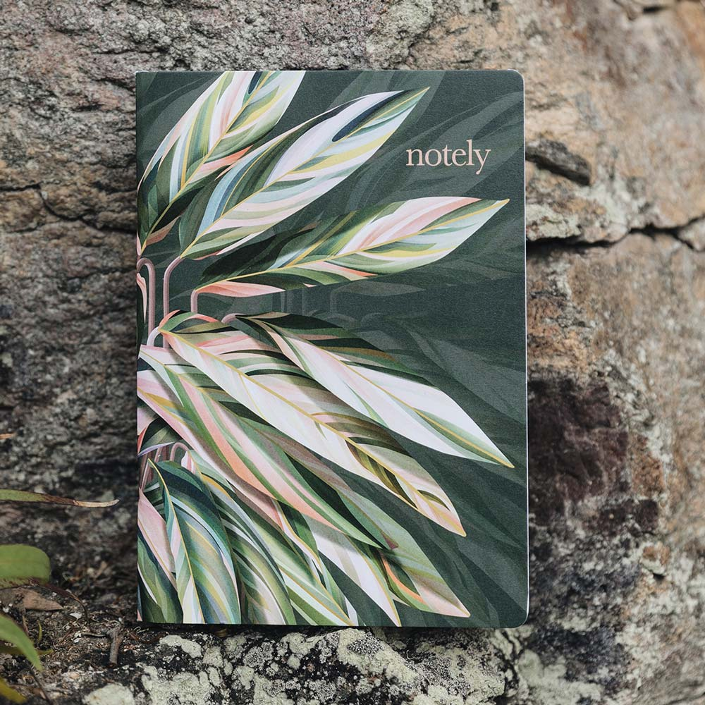 Sara Turner – Botanical A5 Notebook (Set of 2) by NOTELY