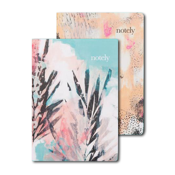 Thom Stuart Artist Collection A5 Notebook (Set of 2) by NOTELY