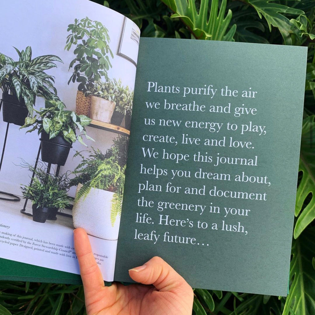Plant Journal in Light Grey by NOTELY