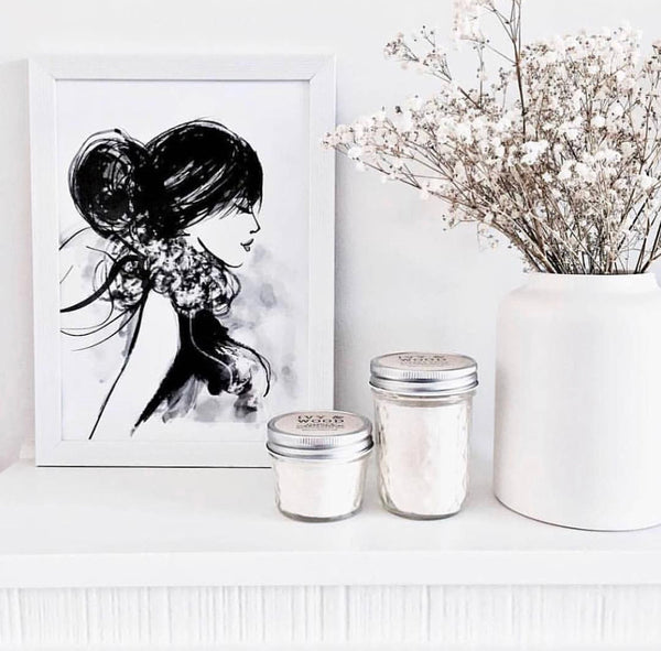 Amazon Lily Mason Jar Soy Candle