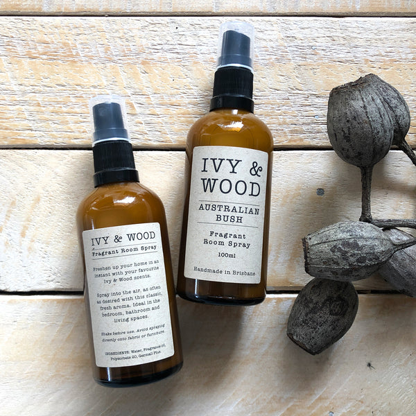 Australian Bush Room Spray - Ivy & Wood - Australian Made