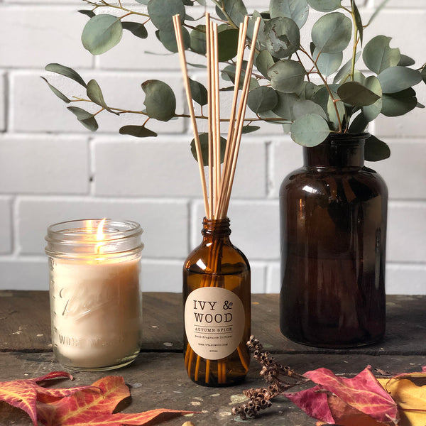 Limited Edition: Autumn Spice Reed Diffuser - Ivy & Wood - Australian Made