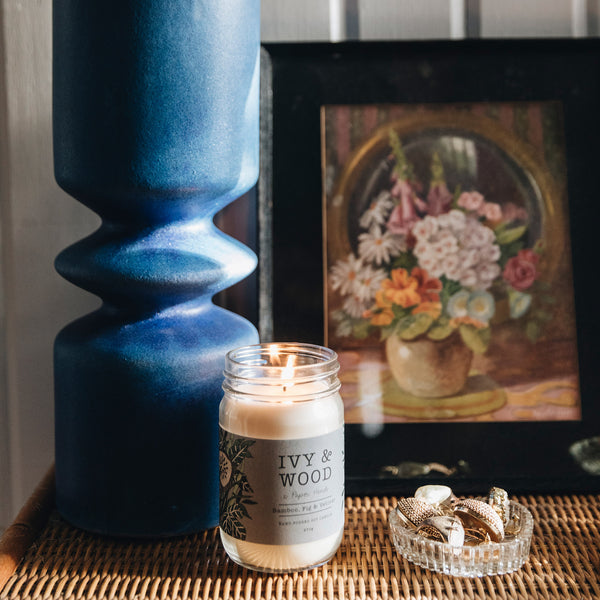 Botanical: Bamboo, Fig & Vetiver Soy Candle