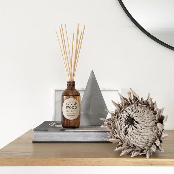 Lychee & Black Tea Reed Diffuser - Ivy & Wood - Australian Made