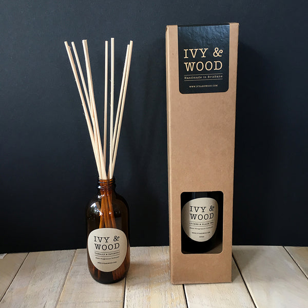 Christmas Pudding Limited Edition Reed Diffuser - Ivy & Wood - Australian Made