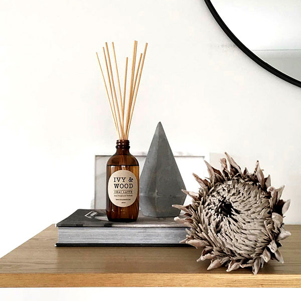 Chai Latte Reed Diffuser - Ivy & Wood - Australian Made