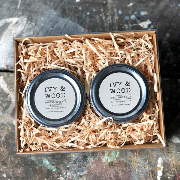 Easter Limited Edition Candle Gift Pack - Ivy & Wood - Australian Made