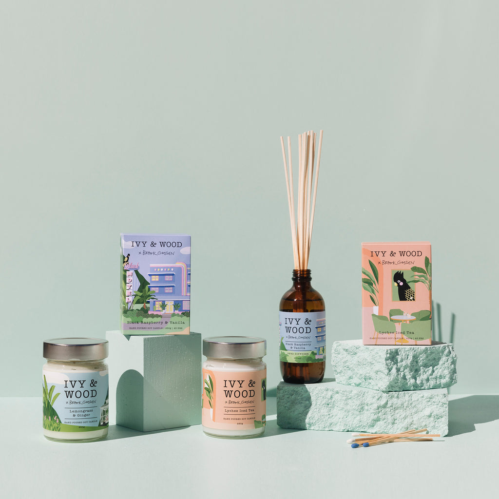 Paradiso: The Entire Reed Diffuser Collection - save $20 with FREE delivery!