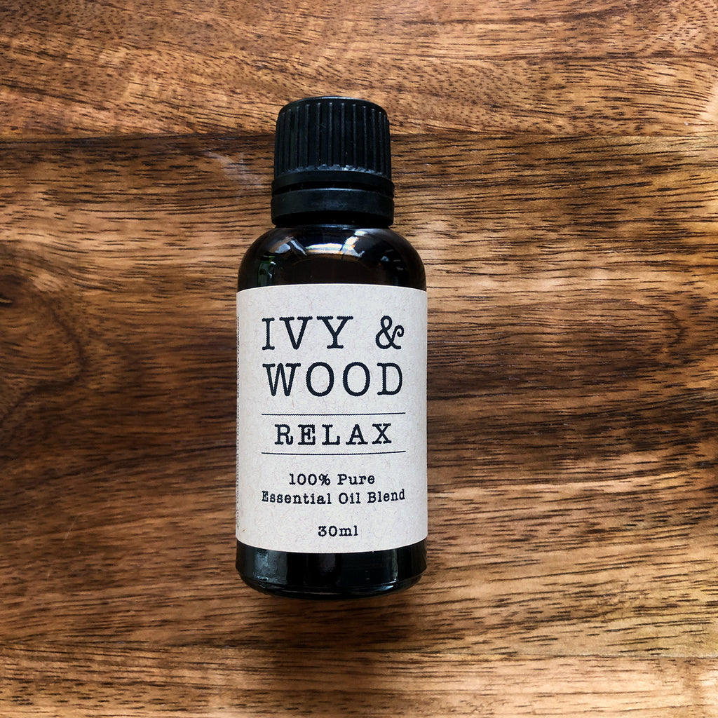 Relax Blend Pure Essential Oil 30ml - Ivy & Wood - Australian Made